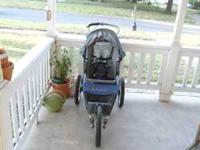 Jogging stroller in good shape, does need some break
