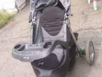 Jeep Jogging stroller. Works great, I just dont use it.