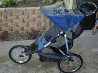 In Step Jogging Stroller Works great and has a hand