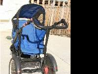 Safety First Jogging Stroller - This stroller has the