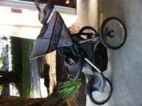 Expedition Jogging Stroller. Hardley Used.  text or
