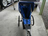 Jogging stroller, folds up for easy storage, $75 call