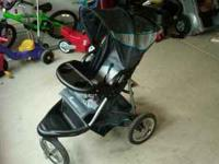 Brand New Jogging Stroller. Paid 125. Txt  for pics and