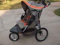Jogging Stroller Baby Trend Expedition Twin side by