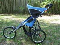 Jogging stroller by safety 1st, parking brakes, hand