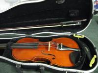 REALLY NICE VIOLIN FOR SALE. SEE PICS. INCLUDES CASE.