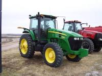 2009 John Deere 7630 Tractor 170 Engine HP 794 Hrs.