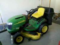 YOU ARE LOOKING AT A VERY NICE LOW HOUR JOHN DEER L120