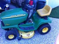 i have a nice lt155 riding mower for sale everything
