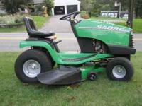 For sale is a 2000 Sabre lawn tractor made by John