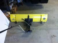 46' John deer snow blade used once. Call for more info