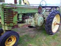 John Deer Tractor $1000.00 for info call BRian