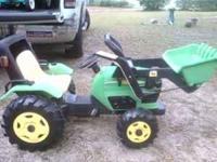 JOHN DEER TRACTOR/ FRONT END LOADER PEDDLE TYPE COST
