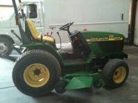 JOHN DEER TRACTOR 4100 IN EXCELLENT CONDITION, 3