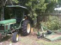 John Deer 1050 turbo diesel for sale. Has new clutches