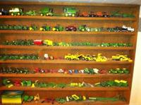 I have many 1/64th John Deeere toy tractors for sale. I