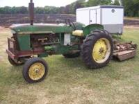 I Have a John Deere tractor that has a gas Engine in