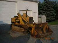 John Deere 1010 Diesel Track Loader with drott four in