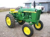 1961 John Deere 1010RS gas, single row tractor, with