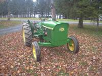 JD 1020 Diesel with 3 pt. hitch, hydraulics, good