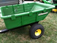 John Deere 10p utility cart. Just washed and waiting