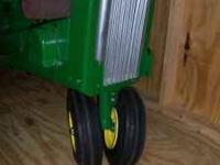 I have for sale a John Deere 110-112 Narrow Front end