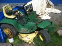 John deere 110 parts machine, has lots of good usable