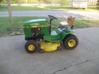 John Deere 111 Riding Lawn Mower 14.5 hp briggs and