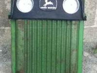 John Deere 112 Nose $300 Very good condition  Leave a