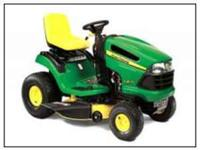 125 LAWN TRACTOR WITH DOUBLE BAG BAGGER 42 IN CUT
