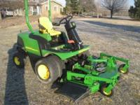 John Deere 1445 Power Steering ZTR Zero Turn Mower 72