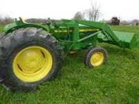 john Deere 1530 with john deere factory loader, only