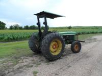 John Deere 1530 Tractor - 1973 model -46 HP Call:  //