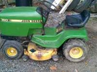 runs and mows good, . kawasaki engine and 38 inch deck.