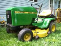 John Deere (Hydro) Lawn mower Motion by the right hand,