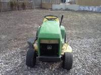 For Sale: John Deere 165 riding mower, 38 inch cut, in