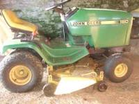 5 Speed Gear Drive, Runs great with a 17HP, Cuts great