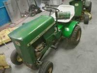 1967 model 60 lawn tractor needs carb work . I also