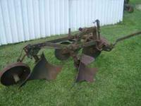 Good John Deere 2 bottom 12 inch plow for M tractor.