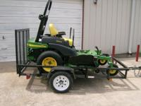"2006 John Deere 737 Ztrak 54"" cut commercial zero turn"
