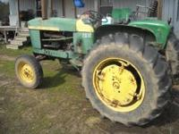 47 HP 50% rubber, 540/1000 rpm pto, cat. 2 point hookup