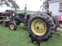 ***John Deere 2030*** 68 HP Diesel Bush hog front-end