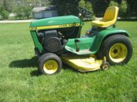 For Sale John Deere 212 ... 12hp Kohler Engine ... 44""