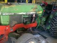 John deere 2255 for sale in good condition for more