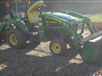 2005 John Deere 2305 Sub- compact Tractor 24 hp.