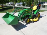 John Deere compact utility tractor 2305, 24H.P. Diesel