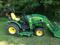 2320 compact energy 4 wheel drive tractor with 62D