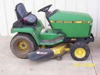 John Deere 240 Lawn Tractor New 38 JD edge deck engine