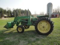 1976 John Deere 2440 60 HP diesel tractor with John