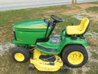 John deere 245 only 288 hours great condition. 20 horse